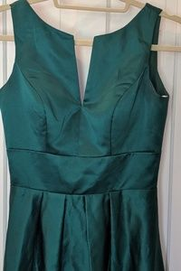 Emerald Green Dress